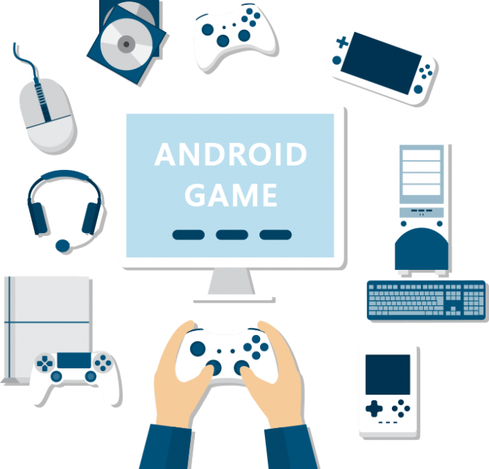 Android Game Development Graphic